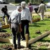 REAF program participants began construction of the Selwyn Peace Garden  in 2008.